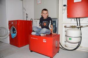 Zum Beitrag: Bei Familie Kühn steuert der Speicher die Waschmaschine